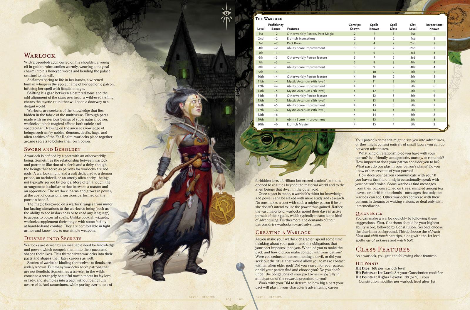 character sheet 5e pdf warlock